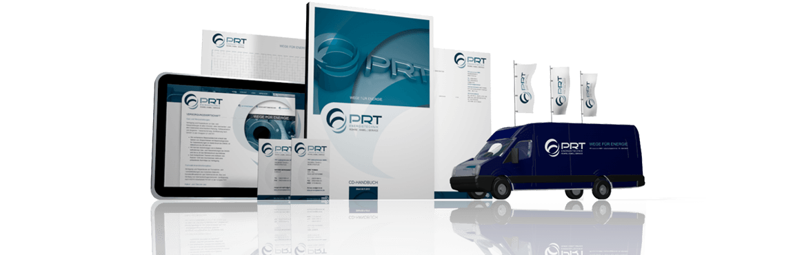 PRT Energietechnik - Corporate Design