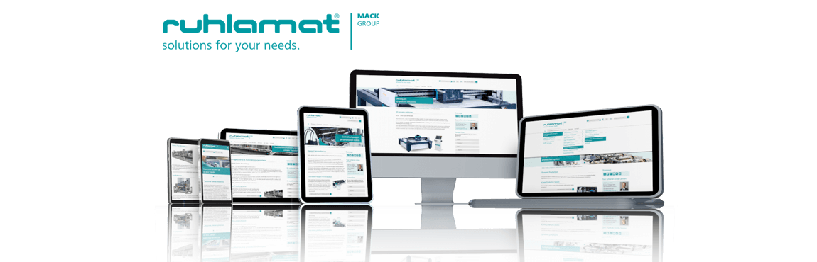 ruhlamat im neuen Look - Relaunch der Website